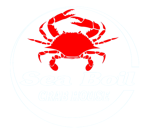 The Sea Boil Crab House Logo